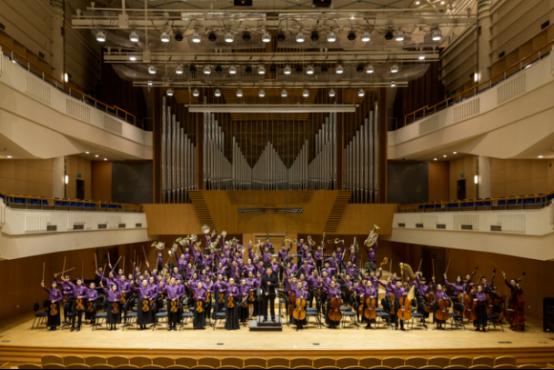 """""""最好的未来""""湖南青少年交响乐团成立五周年音乐会"""