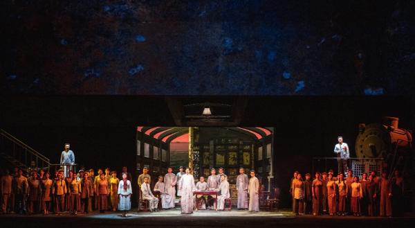 歌剧《红船》在国家大剧院上演